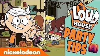 The Loud House Halloween Party Guide 🎃 Nick