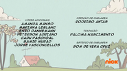 Creditos de doblaje The Loud House PTBR (S118-2)