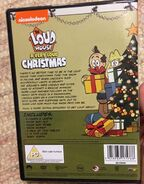 A Very Loud Christmas back cover