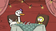 S4E09A Walt and the duck getting along together