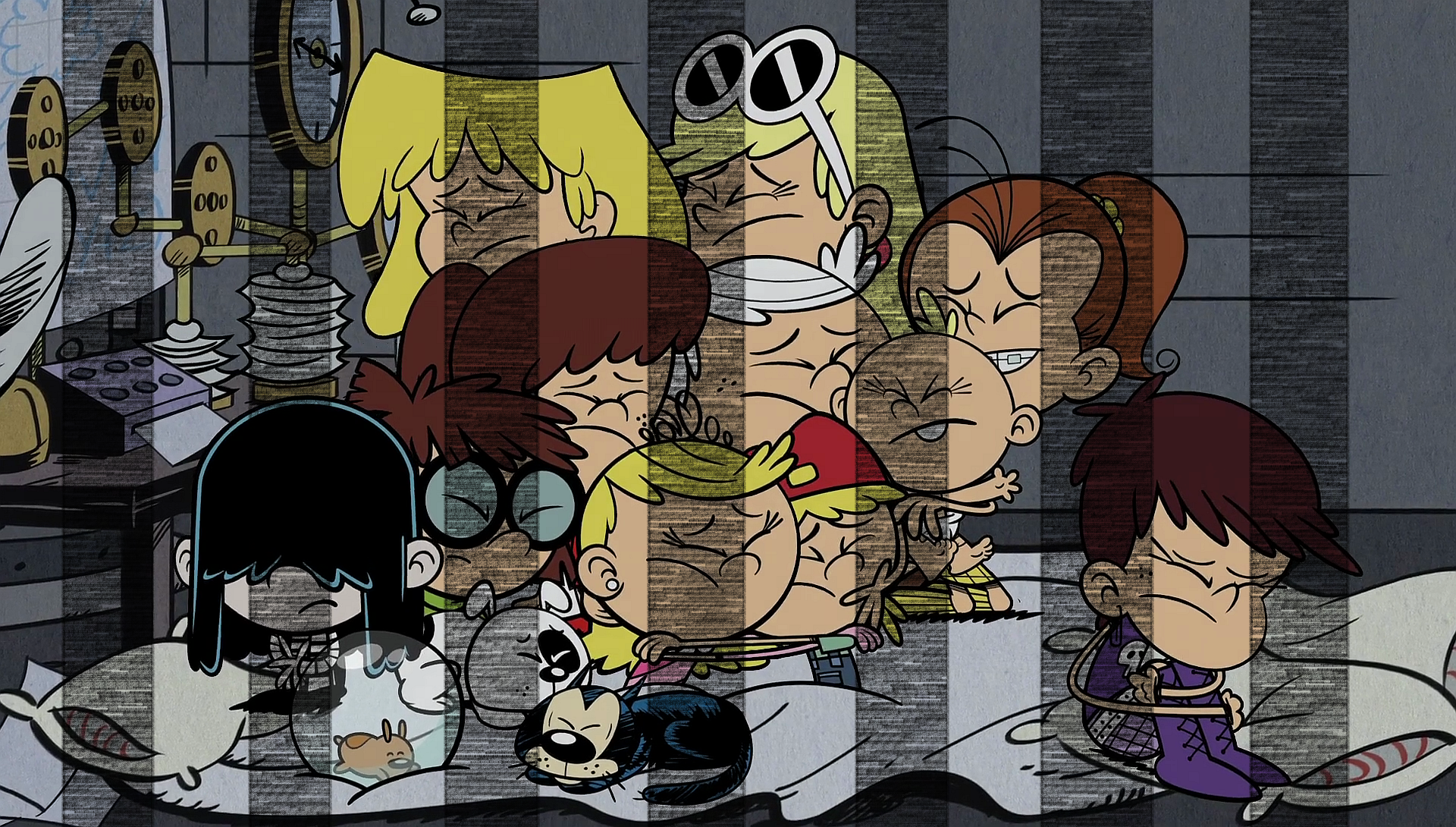 the loud house pets peeved wiki
