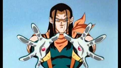 English - DBGT (Super Android 17 Theme)