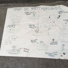 Map of The Neitherlands from the TV series