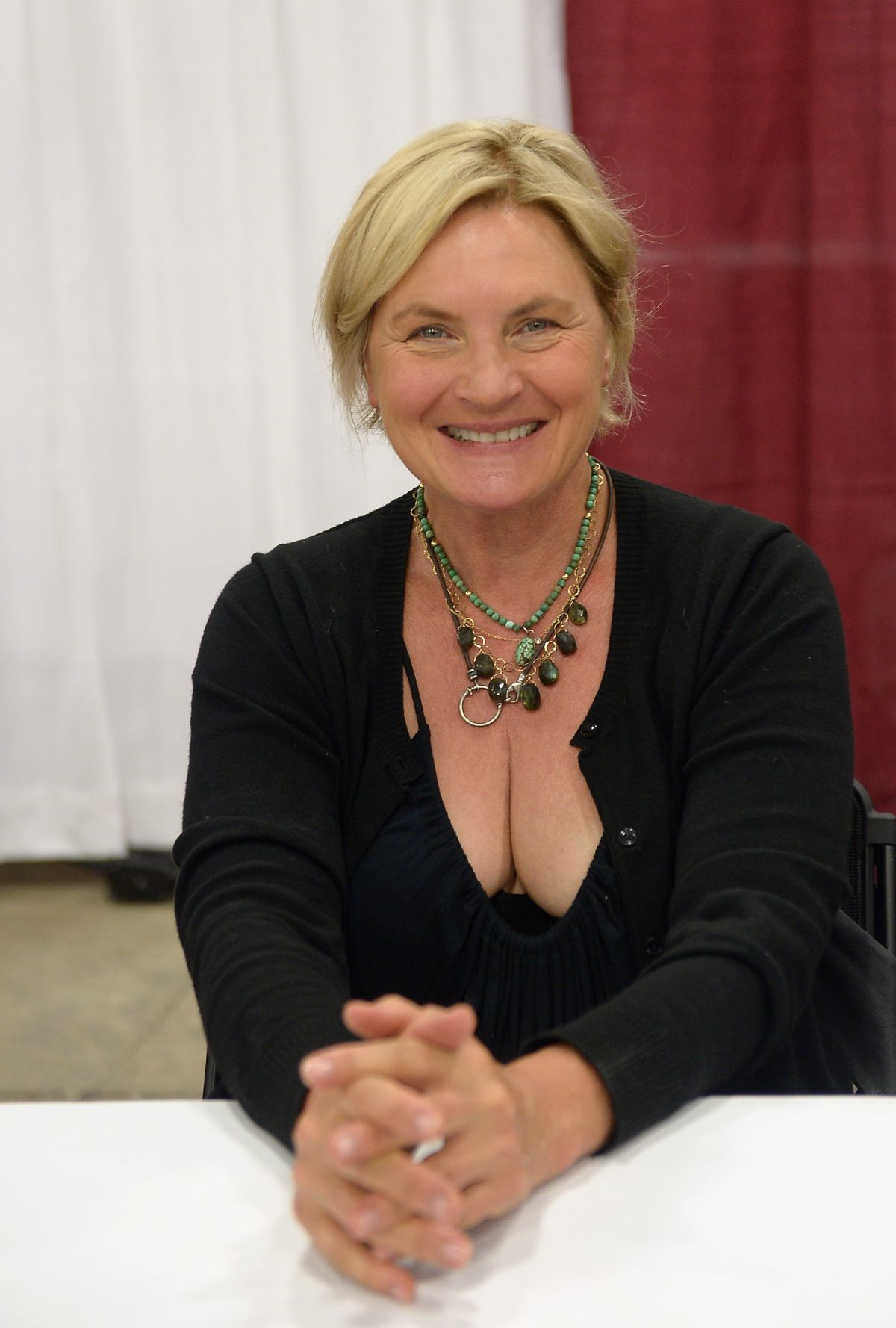 Denise Crosby pink panther