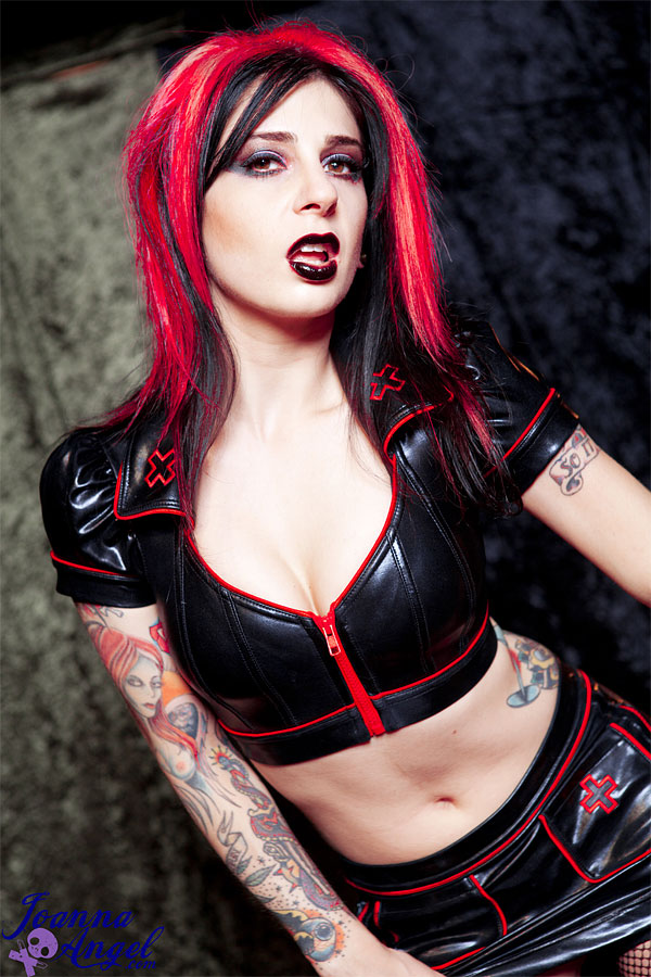 Joanna angel goth nurse
