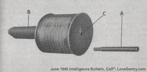 P5 soviet hand grenades