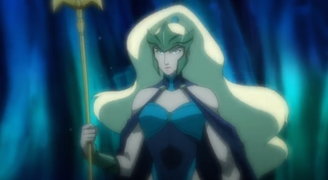 Justice League Throne of Atlantis - 13 Queen Atlanna