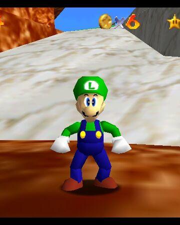 Luigi Super Mario 64 Mario Wiki Fandom