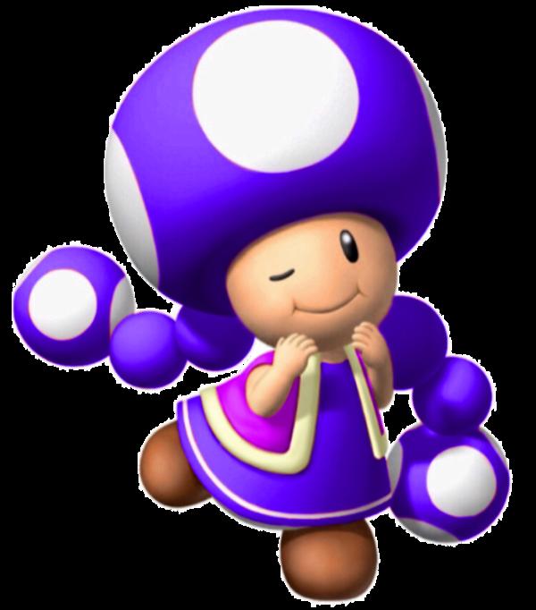 Purple Toadette | The Mario Fanon Wiki | Fandom