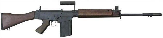 Fn c1 rifle rh side