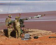 RBS-70 Saab anti-aircraft sol air defense missile system Australia Australian army 001