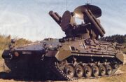 Marder roland air defence anti-aircraft tracked armoured vehicle German Army Germany 003