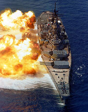 USS Iowa BB61