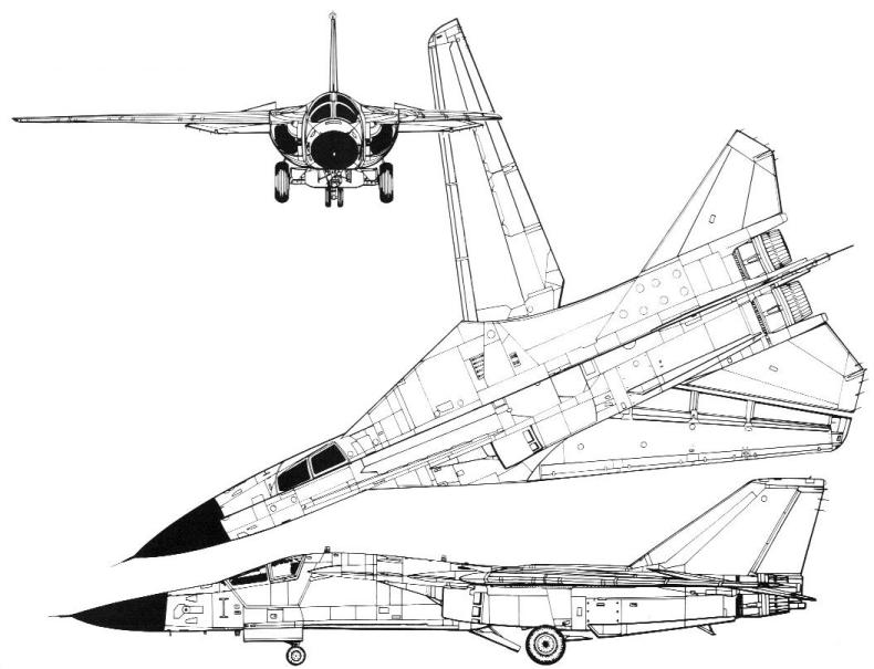F-111C General Arrangement