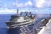 HMAS Success USS Essex May2001