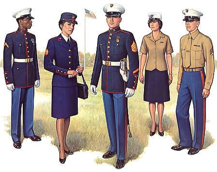 PlateIV Enlisted Dress Uniform