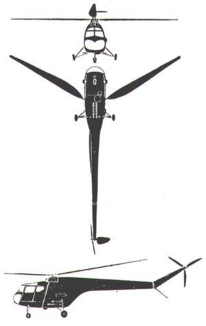 Air Heli Bristol Sycamore Sil