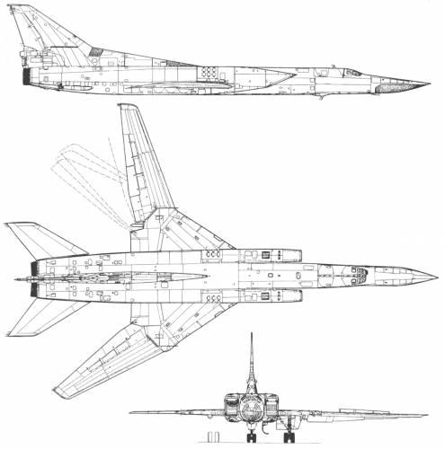 Tupolev tu 22m3 backfire-31200