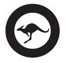 RAAF Roundel Black