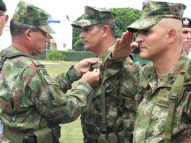Reconocimiento soldados