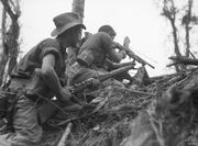 Aust soldiers Wewak June 1945