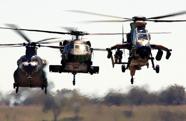 AustralianArmyChoppers