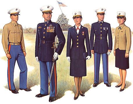 PlateIII Officer Dress Uniform