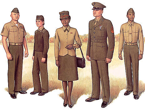 PlateII Enlisted Service Uniform