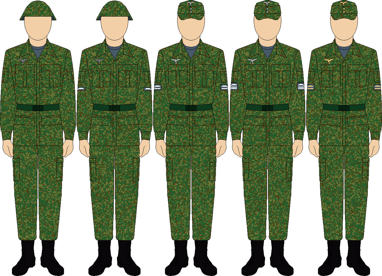 Luftwaffe Combat Uniform thefalconette