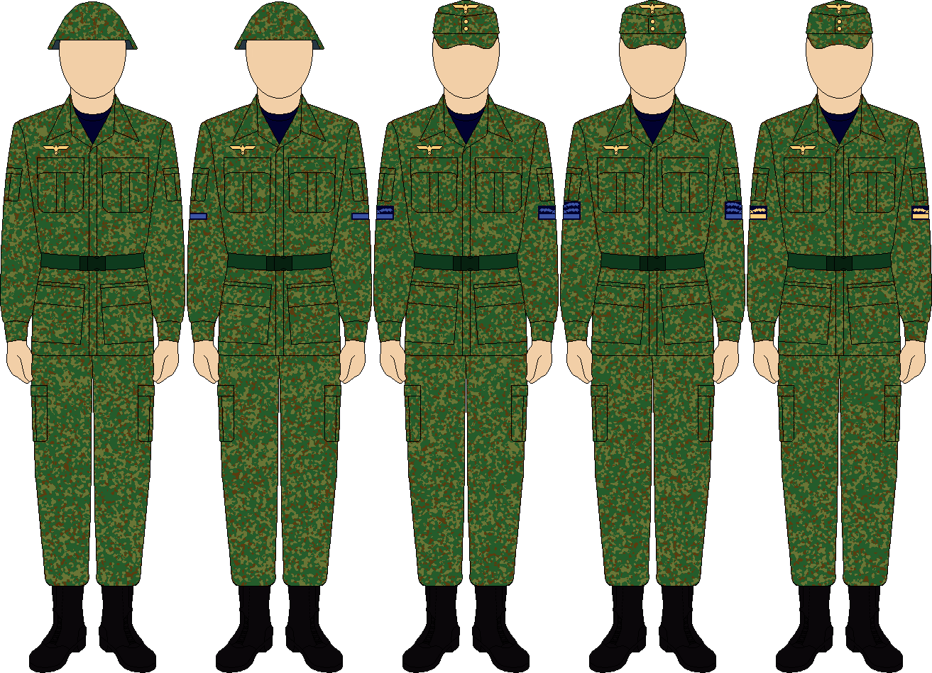 Kriegsmarine Coastal Branch Combat Uniform thefalconette