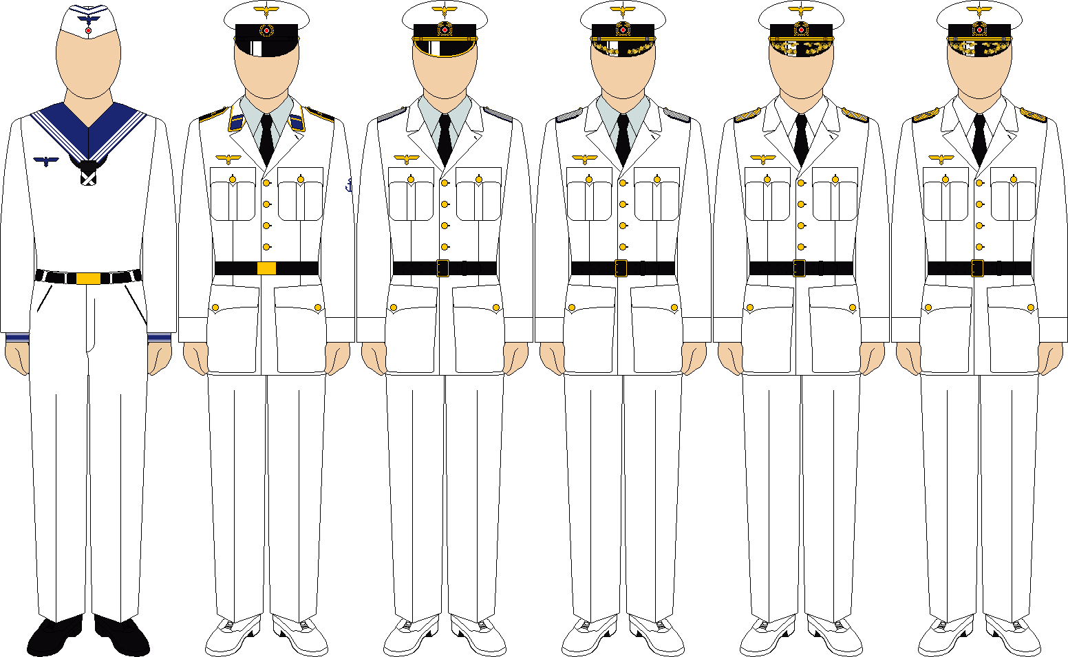 Kriegsmarine summer mission uniforms by thefalconette-d52po6s