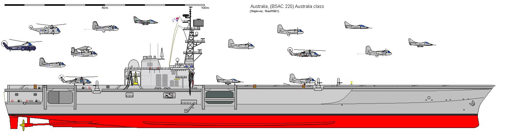 AU CV Australia (BSAC 220)