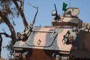 M113AS4APCmovingthroughthescrubonPu