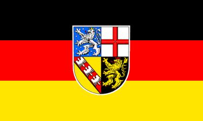 Flag de-saarland 300px