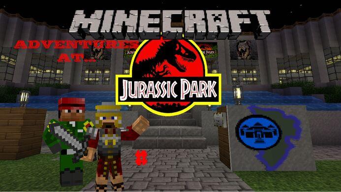 Adventures at Jurassic Park; logo