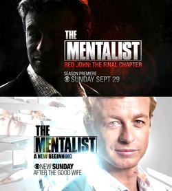 Season 6 posters