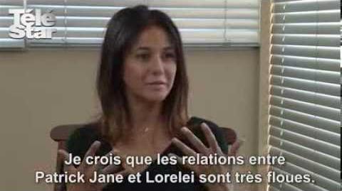 """Emmanuelle Chriqui (Mentalist) """"John le Rouge n'aura aucune pitié !"""""""