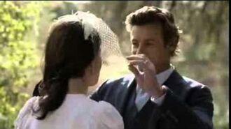 The Mentalist 7x13 Jane and Lisbon Wedding Scene