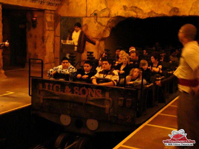 File:Universal Studios Revenge of the Mummy Roller Coaster Car.jpg