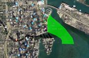 Location of Universal Studios Miami (in green)