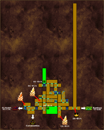 Forlorn Temple Map