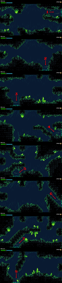 Howling Grotto Maze Map