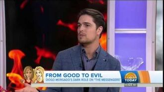 Diogo Morgado on the Today Show - 17 April 2015