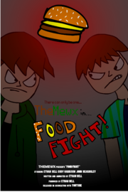 Themewx food fight poster by themewx-d6ngz14