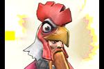 Costume Mage Chicken Hat