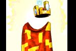 Costume Retro Royalty