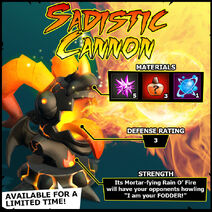 Wanted Sadistic Cannon EN