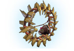 Trap Profile Hamster Wheel