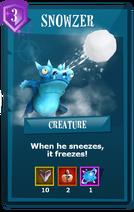 Card Snowzer EN
