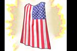 Costume USA Cape